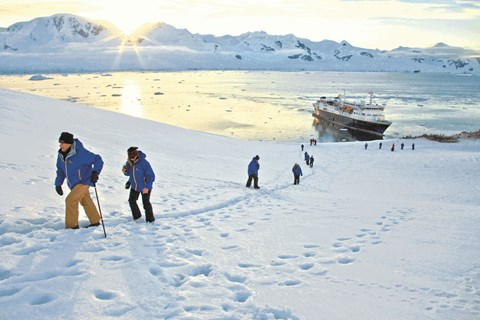 Journey to Antarctica with Lindblad
