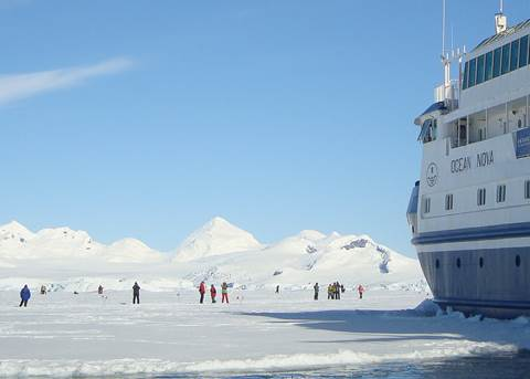 Antarctica Express Air-Cruise