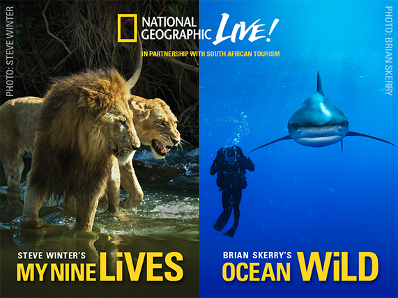 2015 National Geographic Live! Speaker Series