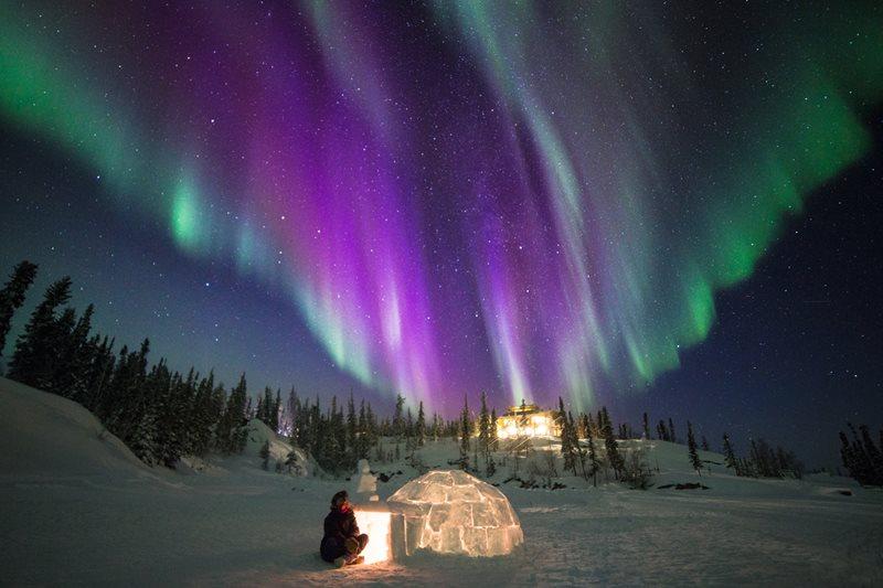 Aurora Borealis - The Northern Lights in the Northwest Territories