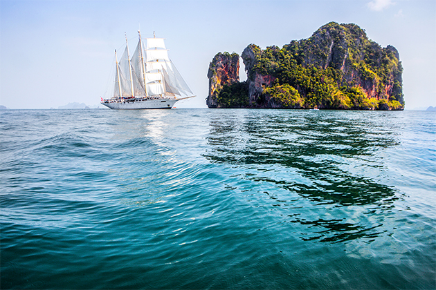 Tropical Thailand with Star Clippers