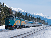 Winter Rail Journeys in Canada