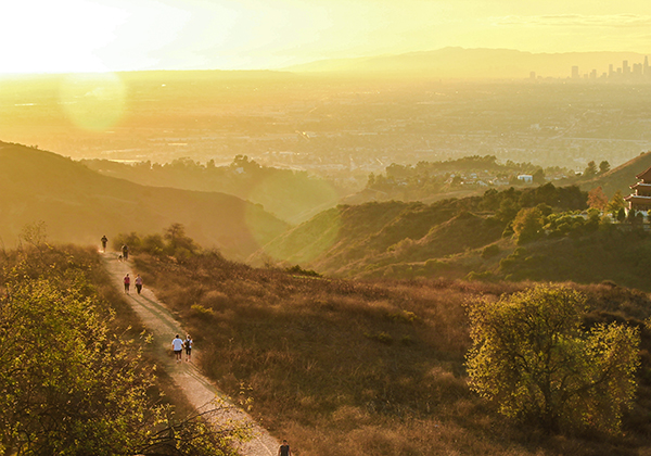 Hike through the City of Angels